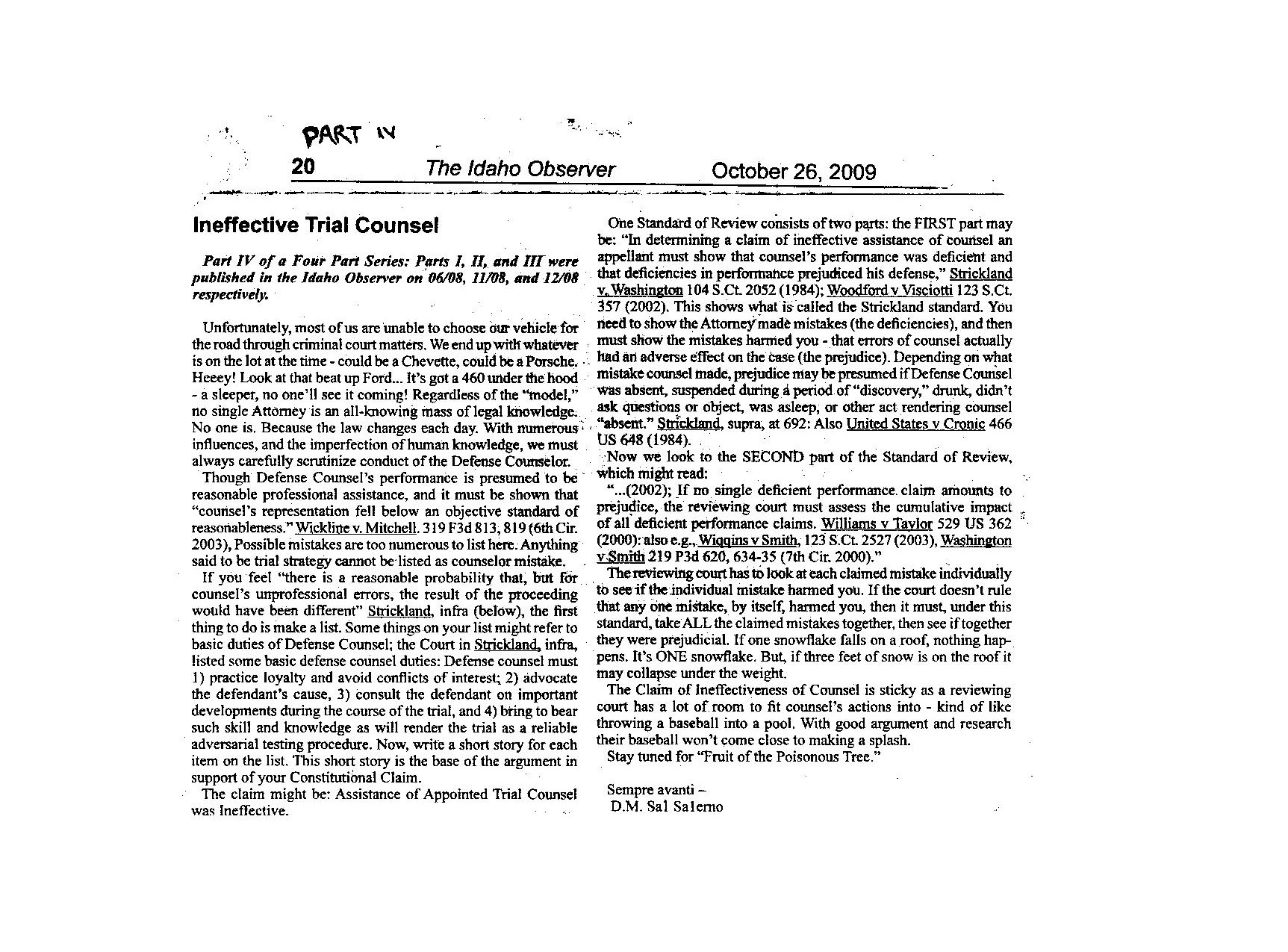 criminal articles